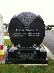 Granite Tree Of Life Headstone