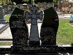 Celtic Mist Headstone