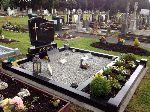 C1 Headstone  Double plot