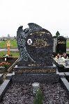 Leaning Angel Headstone