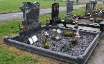 Papel Cross Headstone