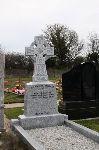 Grey Granite Celtic Cross