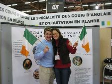 Amanda and Ronnie at Salon du Cheval, Paris