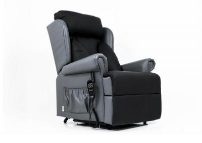 Admiral Care Riser Recliner in Leather