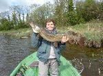 A 15 ans Antoine fait deja beaucoup de bruit sur l'eau au jerkbait