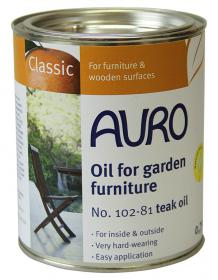 AURO Natural Oil for Garden Furniture