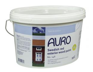 Auro Swedish red, Exterior Wood Paint