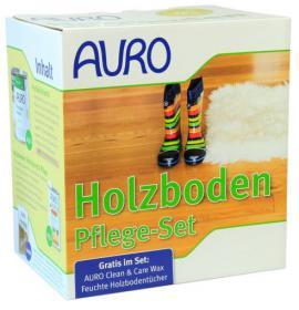 AURO Wooden Floor Care Set