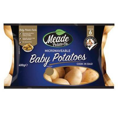 Microwave Baby Potatoes