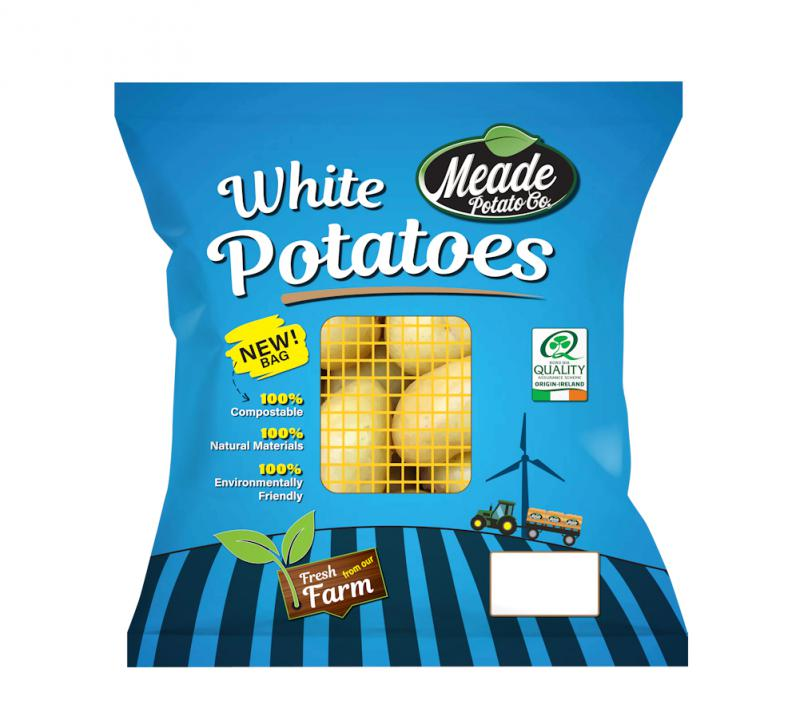 Meade 2kg White Potatoes in 100% Compostable Bag