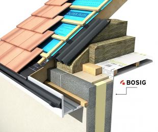 Bosig Phonotherm Roof Detail Application