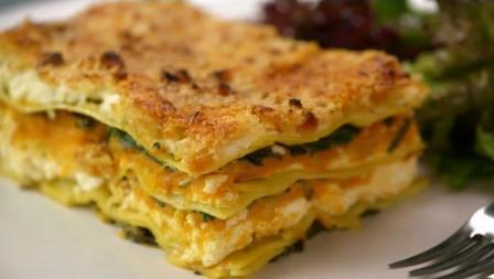 Butternut Squash and Sweet Potato Lasagne