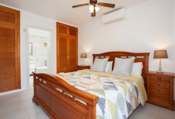 Master Bedroom 2 (Super Kind Bed + Ensuite Sleeps 2 with Air Con unit)