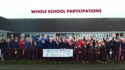 Committee with whole school