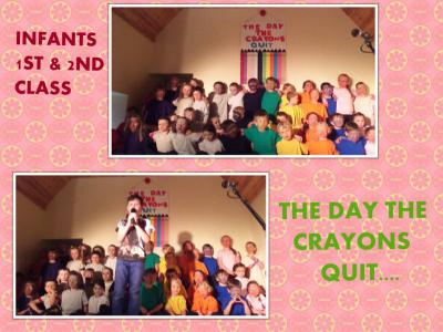 School concert..The day the crayons quit