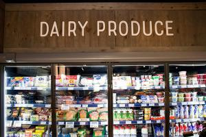 Chilled Dairy Section