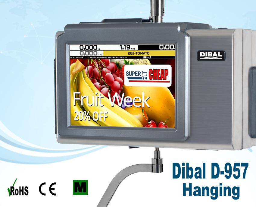 Image for Dibal D957 Haging Touch Screen Scales