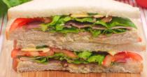 Recipe for Healthy vegetable sandwich