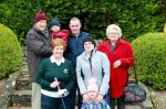 Lady Captain Joan O'Brien and family