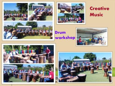 Partnerships/Drum workshop