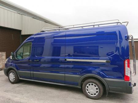 Ford Transit Stainless Steel Roof Rack