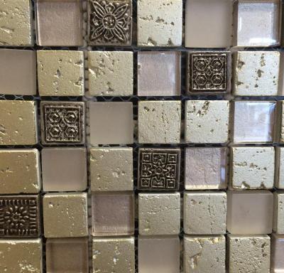 Tiles Sak Glass Stone mix