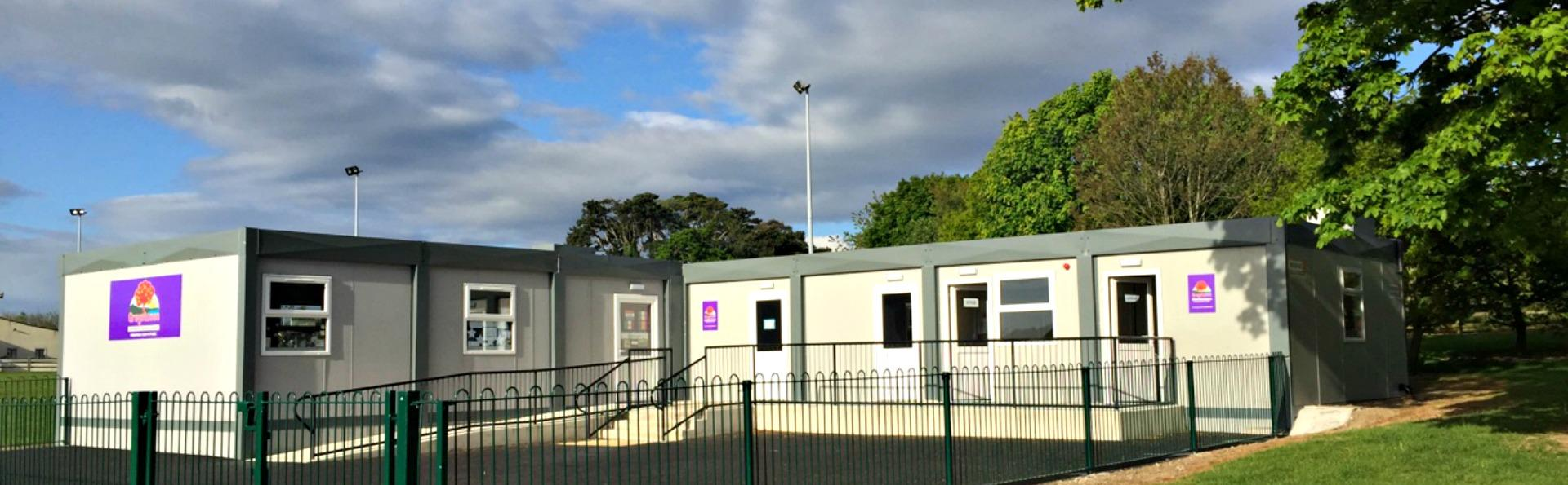 Instaspace provided a solution for Greystones Comm. National School