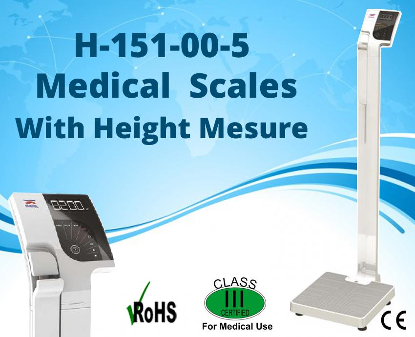 Image for Medical Scales with Height Measure