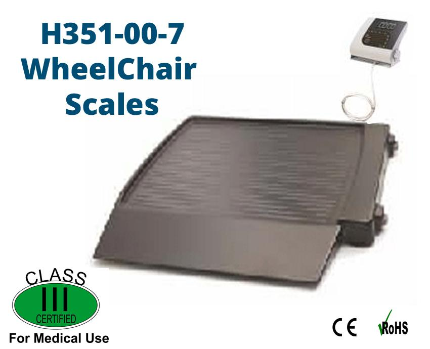 Image for H351 Wheel Chair Scales