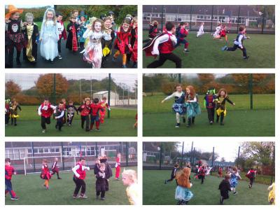 Physical Activities/Halloween races