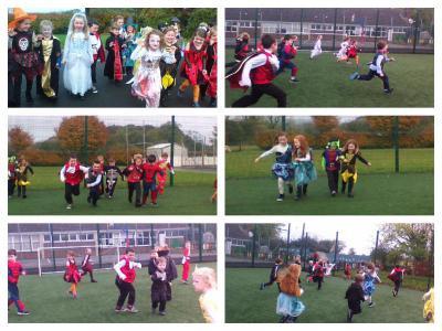 Physical Activities/Halloween races