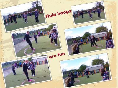 Physical Activity/Hulla hoop
