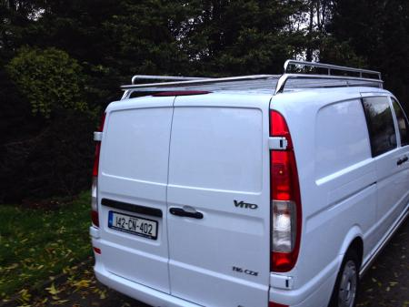 Mercedes Vito Stainless Steel Roof Rack