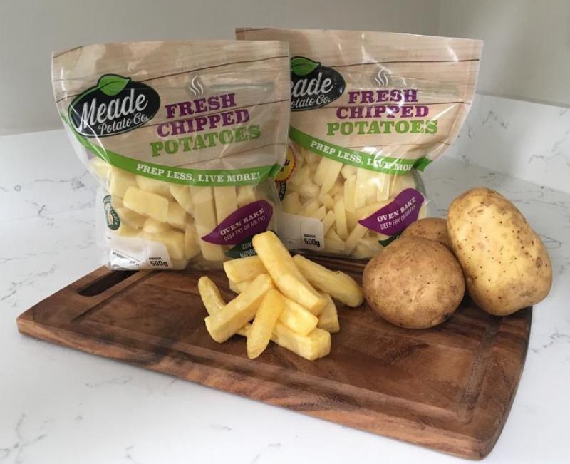 Fresh Chipped Potatoes