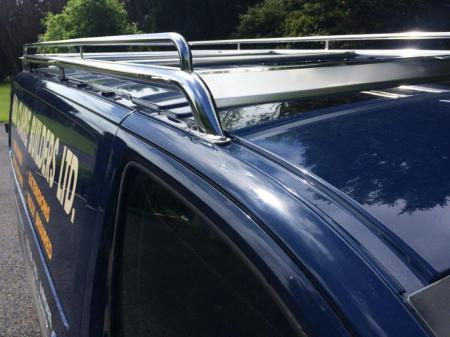 Toyota Proace Stainless Steel Roof Rack