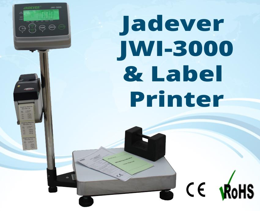 Jadever JWI-3000 complete with Label Printer , related product of Jadever JWI-520 Scales