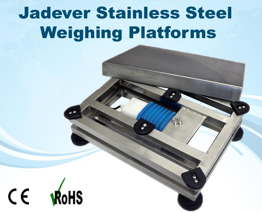 Image for Jadever Stainless Steel Weigh Bases