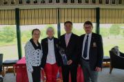 Jing Farrelly, Lady Captain Mary McCabe, Cllr. Lijun Wu and Captain Peter Burns