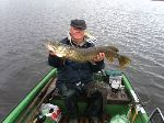 Bonne semaine pour Gégé 74 ans, ....3 poissons au de la du mètre...