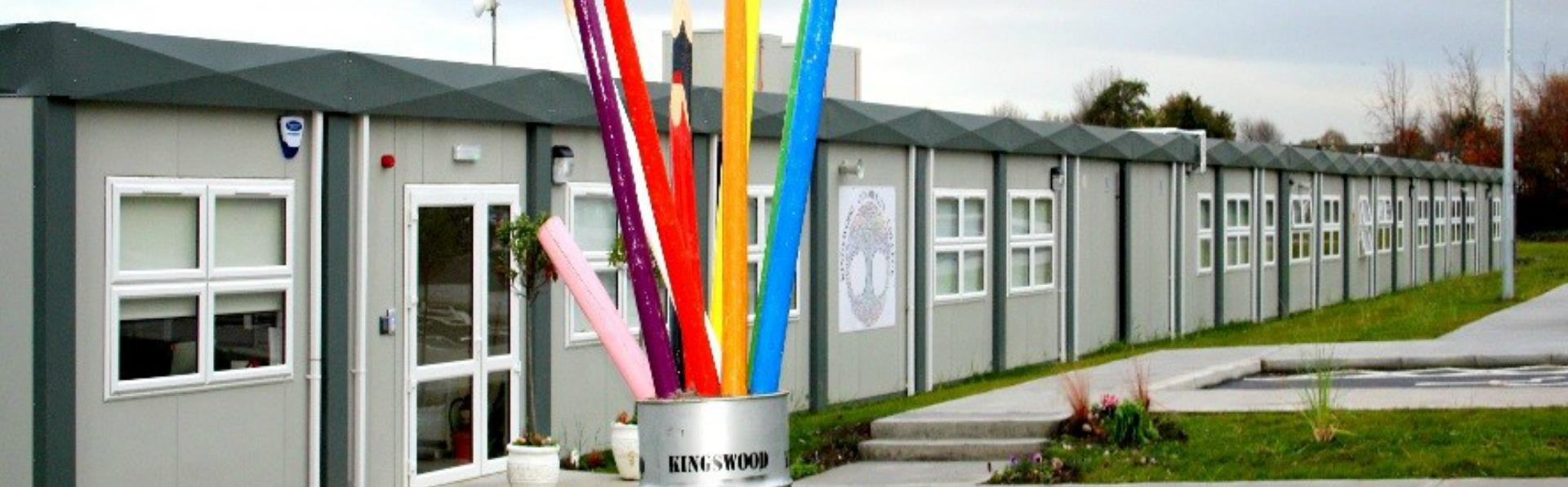 Instaspace provided a solution for Kingswood Post Primary School, Dublin