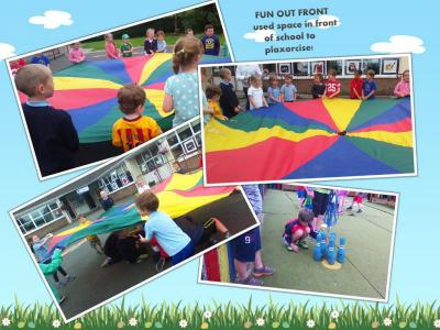 Physical Activities/ Kite flying