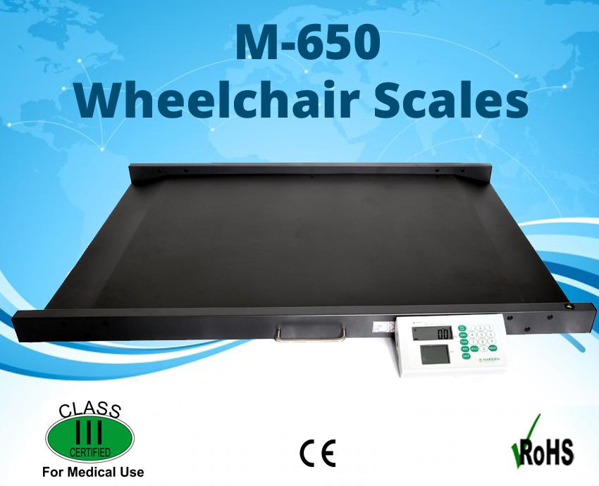 Image for M-650 Drive Through Wheel Chair Scales