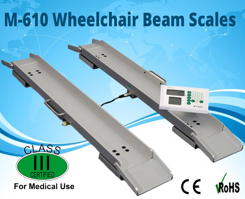 Image for M-610 Compact Wheel Chair Scales
