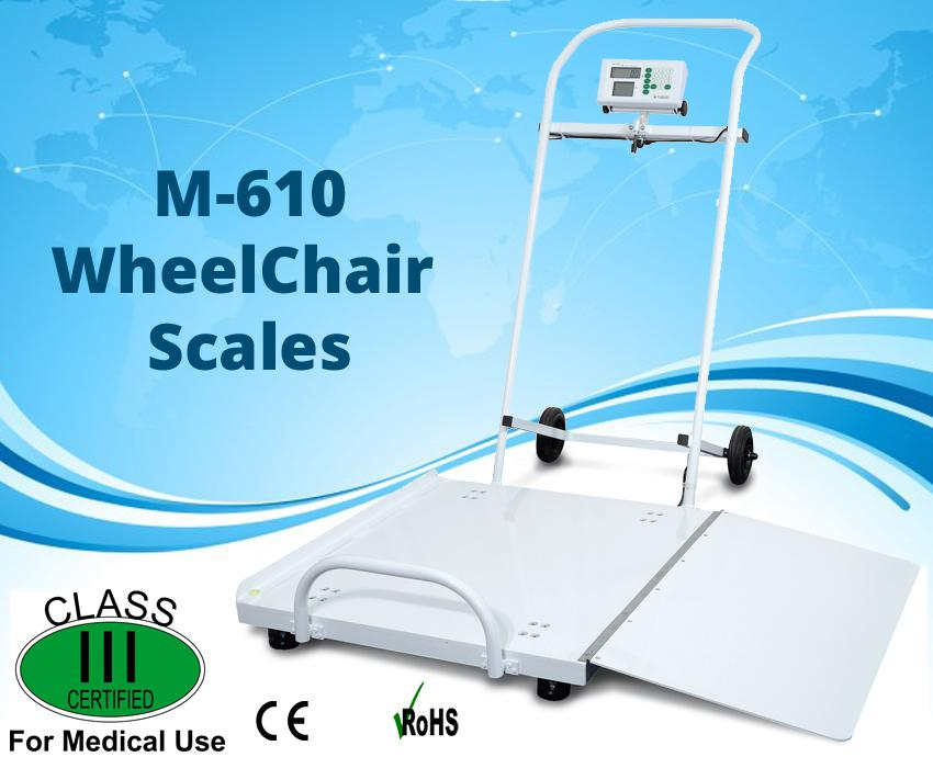 Image for M-620 Portable Wheel Chair Scales