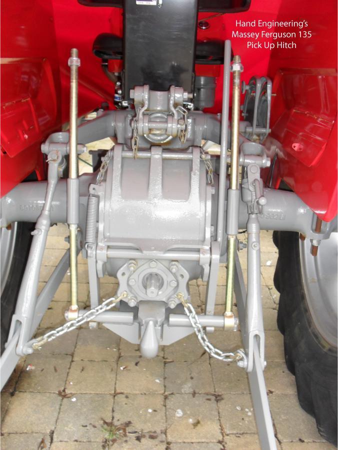 Drop Down Hitch >> Massey Ferguson 135 Pick Up Hitch | Hand Engineering Ltd