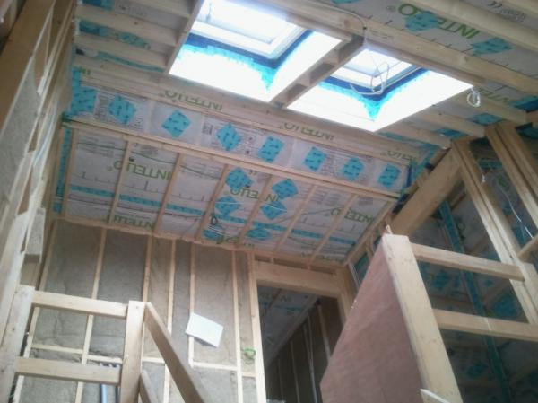 High levels of attention to detail was required to meet onerous airtightness targets