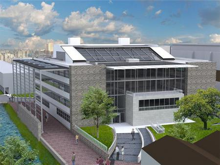 project by LMC Engineering: NUIG Human Biology Building
