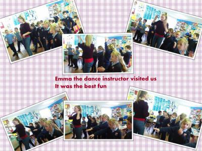 Partnerships/Dance teacher Emma work shop