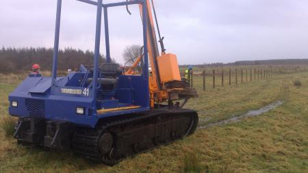 Plant and Machinery  | Fencing services by Mulligan Fencing