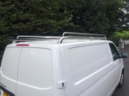 VW LWB Transporter Stainless Steel Roof Rack